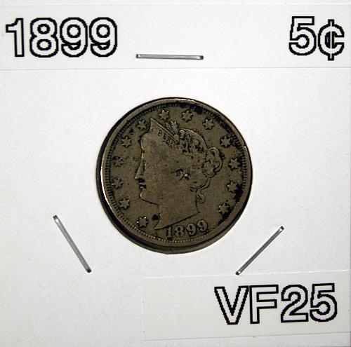 "1899 Liberty ""V"" Nickel"