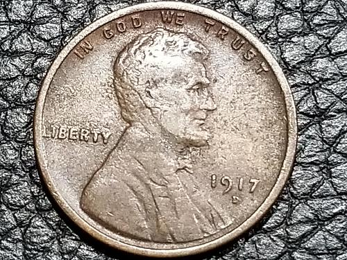 1917 D Lincoln Cent