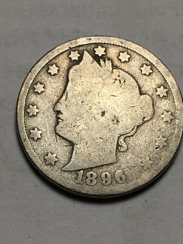 1896 Liberty Nickel Item 1118007