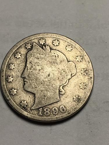 1896 Liberty Nickel Item 1118008
