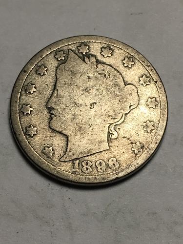 1896 Liberty Nickel Item 1118010
