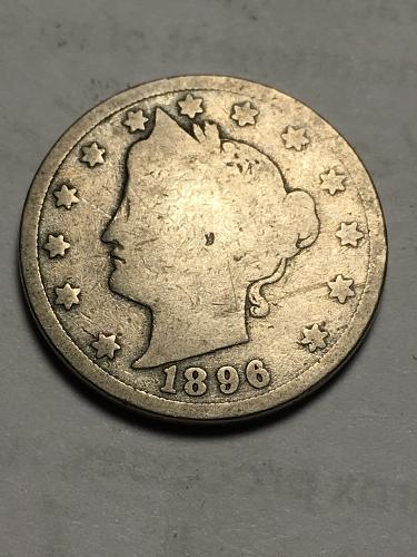 1896 Liberty Nickel Item 1118011