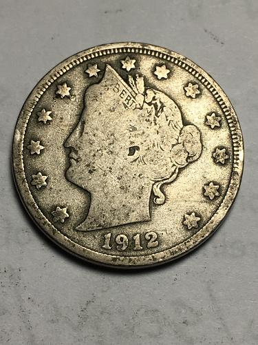 1912 D Liberty Nickel Item 1118015