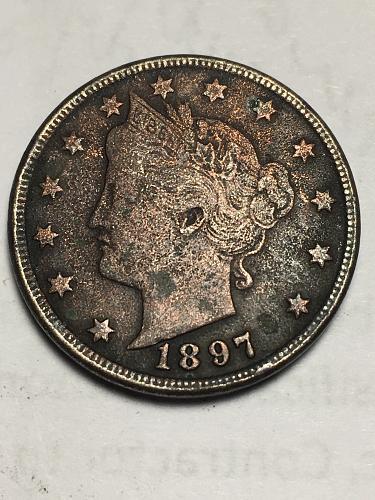 1897 Liberty Nickel Item 1118017