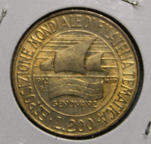 Italy 1992R 200 Lire