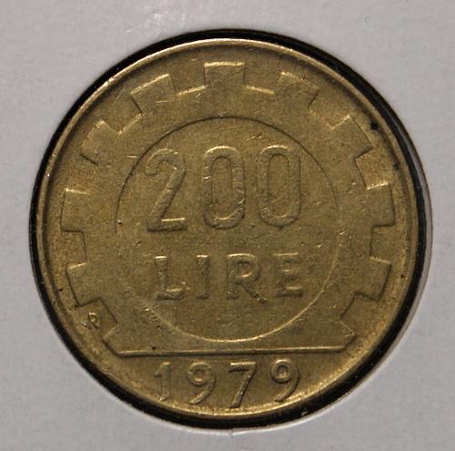 Italy 1979R 200 Lire