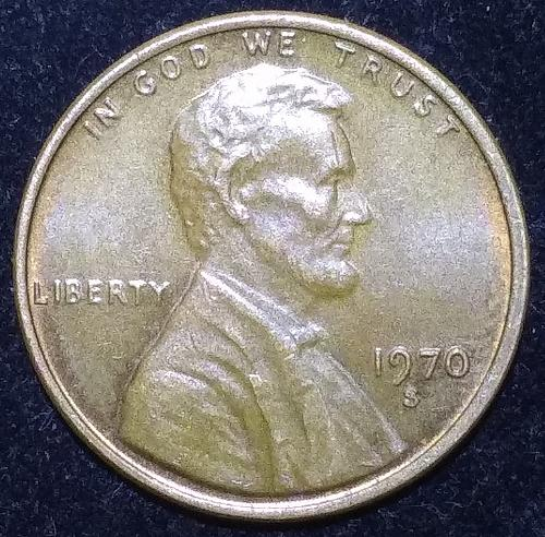 1970 S Lincoln Memorial Cent