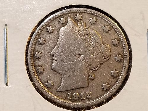 1912 P Liberty Nickel