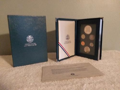 1987 US Mint Prestige Set