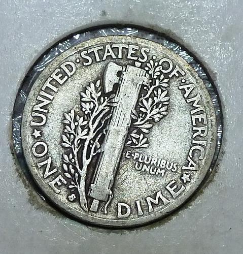 1935-S Mercury Dime   ( 12418G)