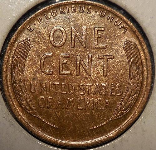 1925 Woody Wheat Cent