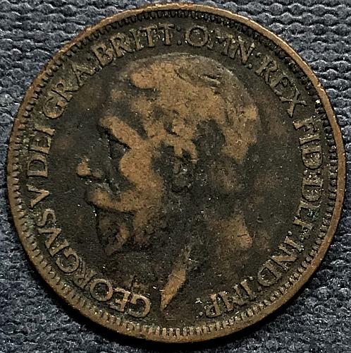 Great Britain 1926 = 1/2 Penny