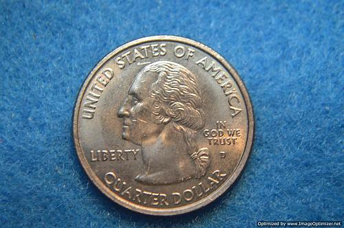 2001 D Kentucky 50 States and Territories Quarters
