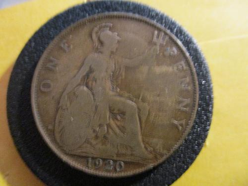 1920 UK Penny           (Soon to be a Century Old Penny)