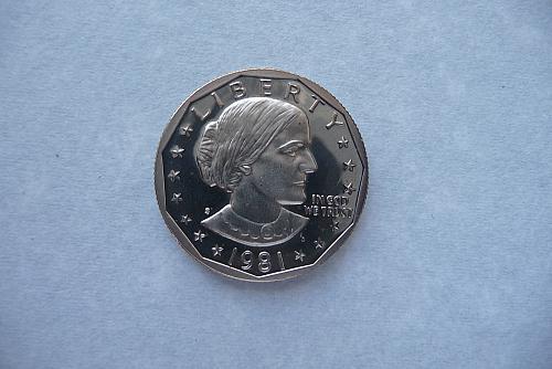 1981-S S B Anthony Dollar