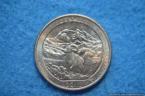 2012 P Denali America The Beautiful Quarters