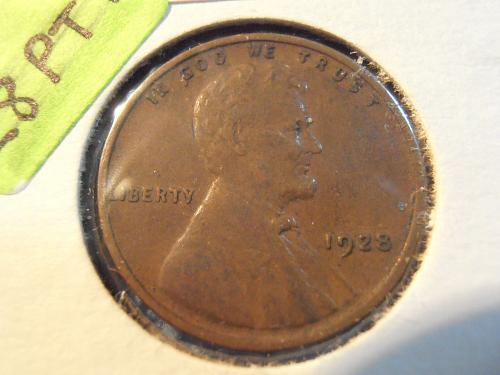 1928 P Lincoln Cent (28PT1)