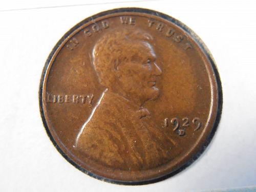1929 D Lincoln Cent - EF (29DT1)