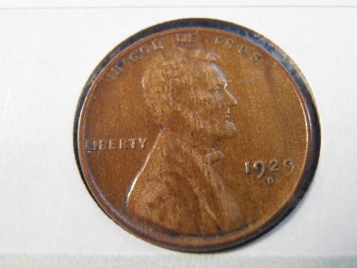 1929 D Lincoln Cent - EF (29DT5)