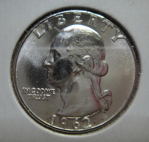 1962 Washington Quarter MS-66 (GEM+) BLAST WHITE!