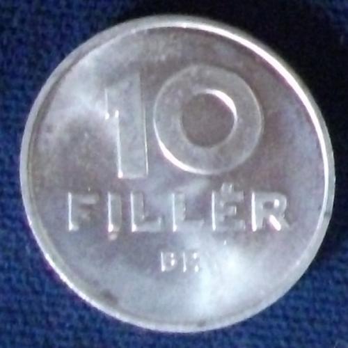 1967 Hungary 10 Filler AU