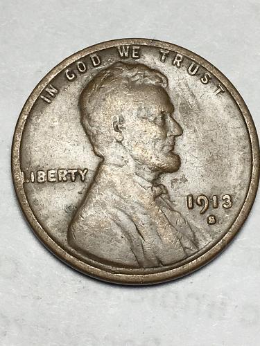 1913 S Wheat Penny Item 1118055