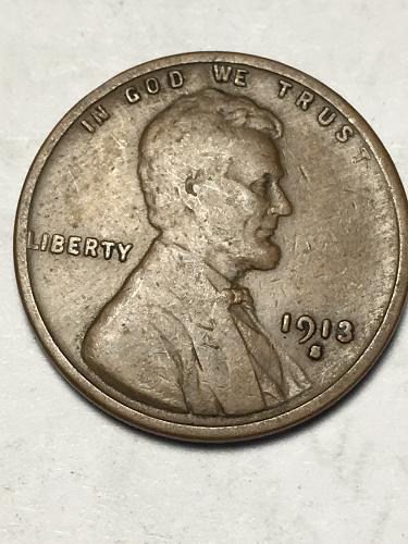 1913 S Wheat Penny Item 1118057