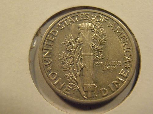1936 P Mercury Silver Dime, Nice AU Coin (36P17)