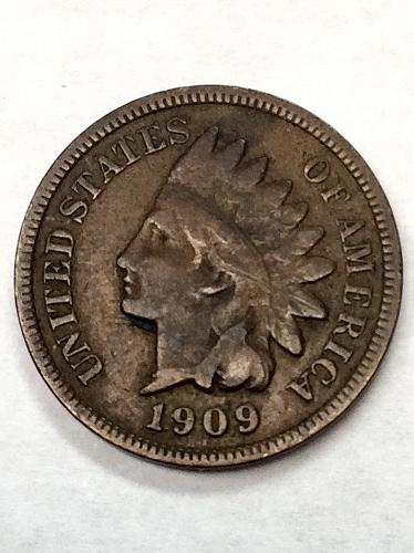 1909 Indian Head Cent