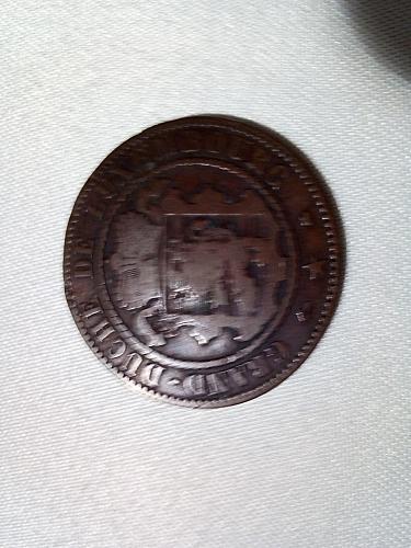 10 centimi  1865 ,  LUXEMBURG