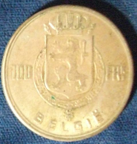 1949 Belgium 100 Francs VF