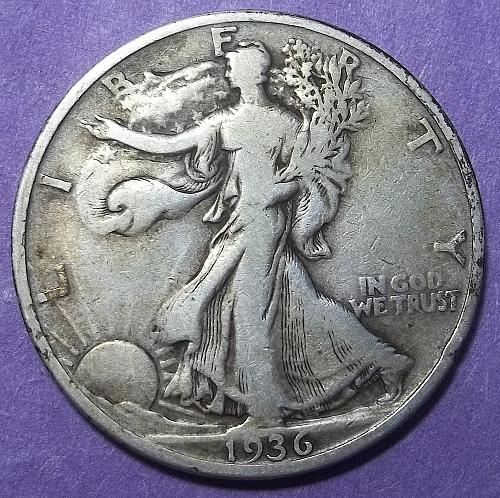 1936 P Walking Liberty Half Dollar Lot JUWLRa