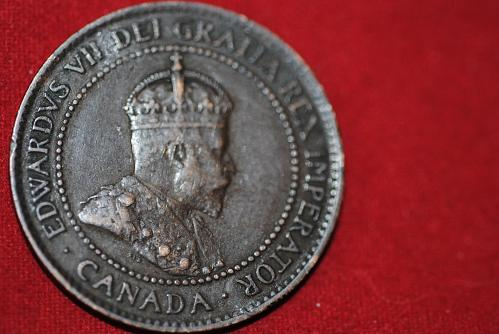 Canada 1903 Large Cent in extra fine