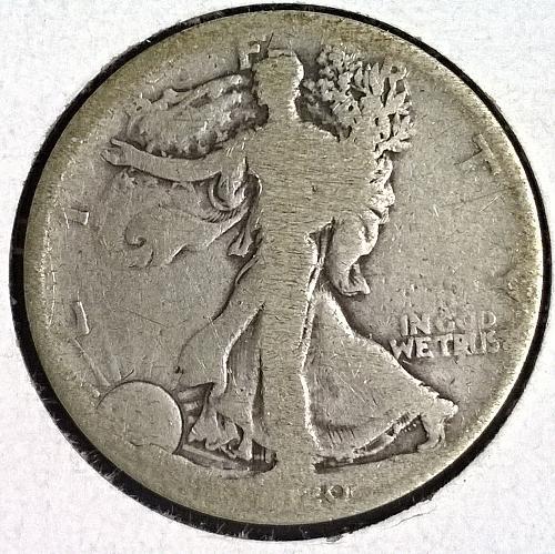 1920 P Walking Liberty Half Dollar - 6 Photos!