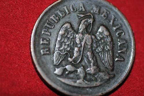 Mexico 1895 Mo 1 Centavo in extra fine