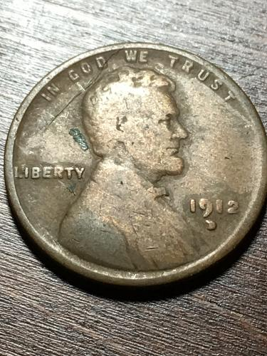 1912 D Lincoln Wheat Cent Item 1218012