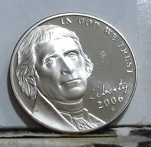 2006-S Gem Proof Jefferson Nickel  # 6507