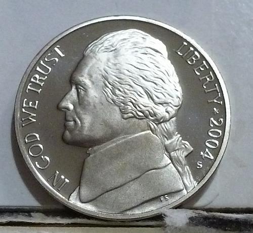 2004-S Keel Boat Gem Proof Jefferson Nickel  # 6509