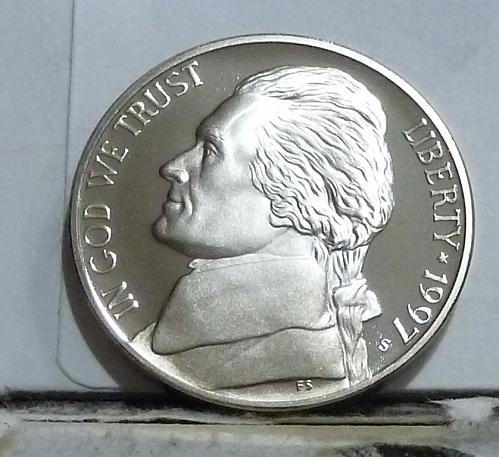 1997-S Gem Proof Jefferson Nickel  # 6518