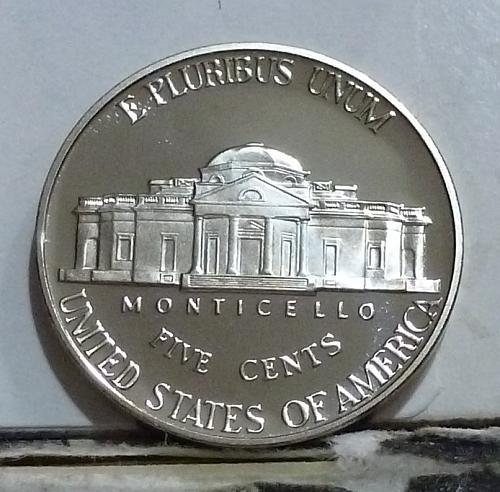 2000-S Gem Proof Jefferson Nickel  # 6515