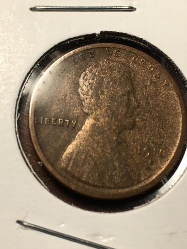 1910 S Lincoln Wheat Cent Item 1218111