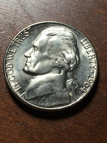 1964 Jefferson Nickel Item 1218163