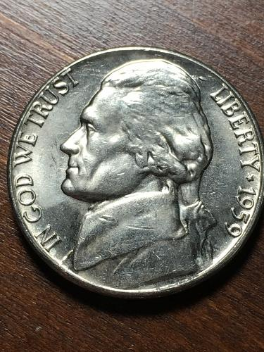 1959 D Jefferson Nickel Item 1218166