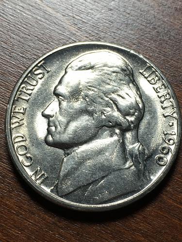 1960 D Jefferson Nickel Item 1218167