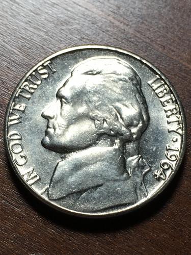 1964 Jefferson Nickel Item 1218178