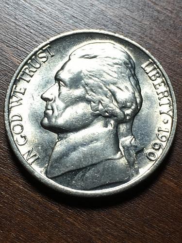 1960 Jefferson Nickel Item 1218182