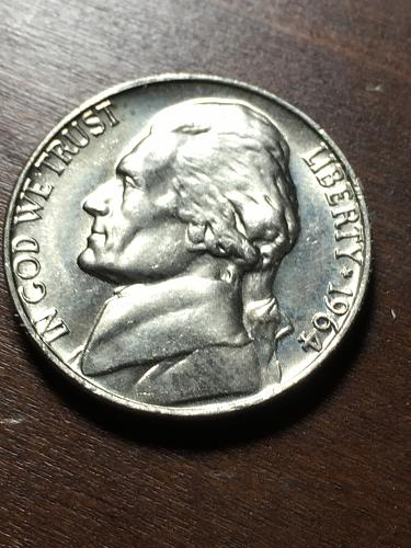 1964 Jefferson Nickel Item 1218199