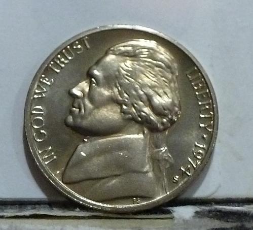 1974-S Gem Proof Jefferson Nickel  # 6541