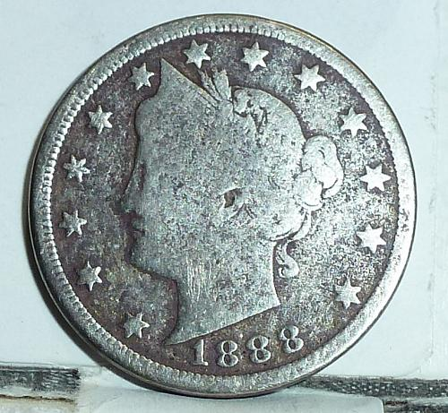 Here is a 1888 Liberty Nickel in Good Grade ( 6556 )