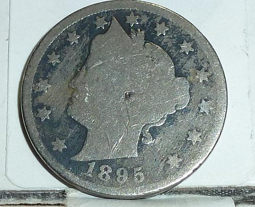 Here is a 1895 Liberty Nickel in Good Grade ( 6563 )